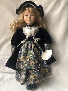 Knightsbridge Collection Hand Painted Porcelain Doll - Doris (No 3)