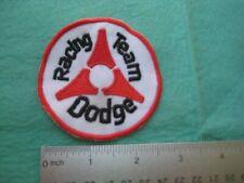 Dodge Dealer Service Racing Team  Uniform Patch