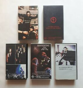 Marilyn Manson vintage 90s VHS bulk bundle: Dead to the World, God is in the TV
