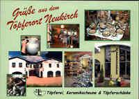 Mehrbild-AK Neukirch Lausitz Wjazońca Keramikscheune Töpferschänke Sonderstempel