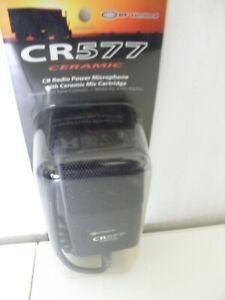 BRAND NEW RF Limited Model CR577 CR-577 Ceramic  Power Tone CB Radio Microphone