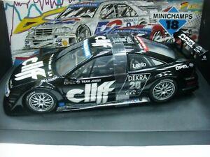 WOW EXTREMELY RARE Opel Calibra V6 #20 Cliff Lehto DTM 1995 1:18 Minichamps/UT