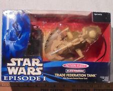 STAR WARS EPS 1 GALOOB ACTION FLEET Electronic TRADE FEDERATION TANK 1999