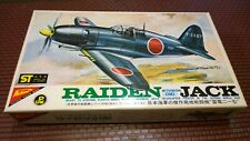 Nichimo Japan Raiden Mitsubishi Jack Airplane Model Kit 1/72