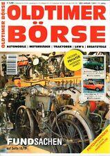 OLDTIMER BÖRSE - Magazin Katalog Kleinanzeiger Ersatzteile 7/2011 - B23654