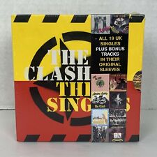 The Singles Box Set Box by The Clash CD, Nov-2006, 19 Discs, Epic Numbered