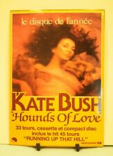 Kate Bush Hounds of Love Post card in very good condition