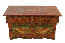 Table tibetaine basse bouddhiste-73x40cm-meuble tibetain-Tibet Nepal -9777