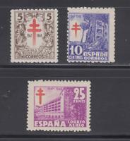 SPAIN (1947) - MNH COMPLETE SET SC SCOTT RA 23/24 RAC 8 TUBERCULOSIS - LOT 1