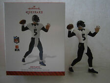 Hallmark Keepsake 2014 Christmas Ornament Joe Fladco 5 Baltimore Ravens Football