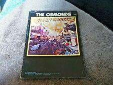 THE OSMONDS CRAZY HORSES ORIGINAL US 1972 SONGBOOK