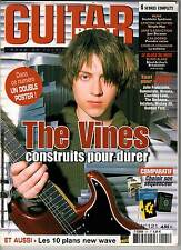 """GUITAR PART #121 """"Vines,Stranglers,Petrucci,Chubby,Soulfly,Blink182"""" (REVUE)"""