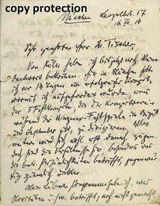 FURTWÄNGLER, WILHELM  handwritten letter signed two pages autograph composer 签名