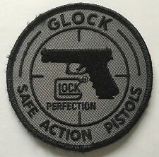 New GLOCK  Gray Patch with Velcro Backside