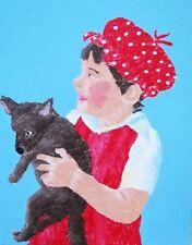 Peintures du XXe siècle et contemporaines enfants sur toile