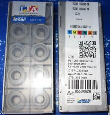 10 NEW ISCAR INSERTS RCMT 1606M0-14 IC20.(1 PACK)