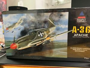 1/48 Accurate Miniatures 3401: A-36 Apache - Sealed