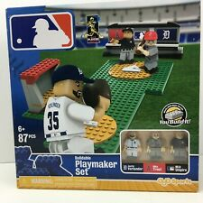 OYO Sports MLB Buildable Playmaker Set 87 PCS Verlander Trout MLB Umpire