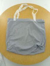 New - No Brand Mesh with nylon handles LAUNDRY BAG - Gray/White - 6 bags