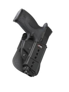Fobus Evolution Right Hand Black Paddle Holster SWMP for Smith & Wesson M&P