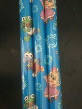 Disney Muppet Babies GIFT WRAP WRAPPING PAPER ROLL CHRISTMAS 60 SQ. FT