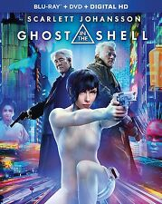 GHOST IN THE SHELL (2017)   - BLU RAY - Region free