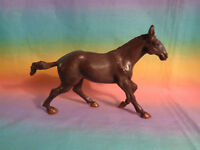 Brown Horse Figure Plastic Toy