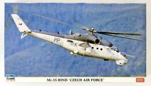 hasegawa 1/72 Mi 35 Hind Czech Air Force Scale Model Kit