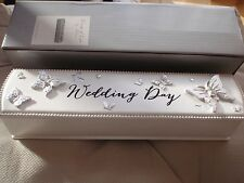 Wings of Love Wedding Certificate Holder & 3D Butterfly's . Perfect Gift