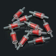 10 Valvola di Non Ritorno Plastica Soffiato 55x15mm per Pompa di Aria Acquario