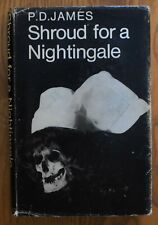 Shroud for a nightingale by P.D.James. Rare original 1971 first edition