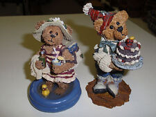 "Boyd'S Bears, ""Ester Hippydipper & M. Harrison"" #227786 & #2275 Used!"