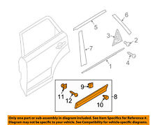 KIA OEM 11-15 Sorento REAR DOOR-Body Side Molding Left 877312P000