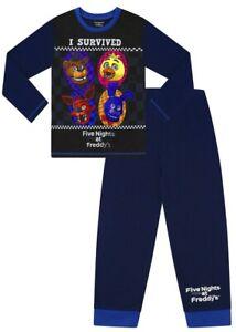 Five Nights At Freddy's Long Pyjamas 5 Nights At Freddies PJs I Survived FNAF