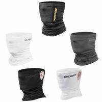 ROCKBROS Summer Face Masks Ice Silk Sun UV Protection Half Face Scarf Covers