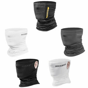 ROCKBRS Ice Silk or Fleece Scarf Outdoor Sports Anti Sweat Headband Cycling Mask