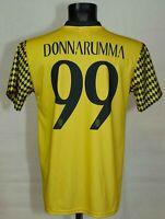 AC MILAN FOOTBALL SHIRT #99 DONNARUMMA SIZE M VGC
