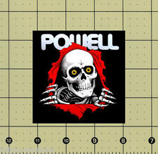 "CUSTOM MADE COLLECTIBLE POWELL RIPPER MAGNET (3¼""x3¼"") skateboard"