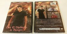 CON EL DIABLO EN LA SANGRE FACTORY SEALED DVD! FREE SHIP! 2 MOVIES 1 GREAT PRICE