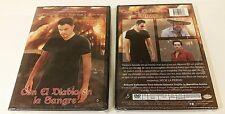 CON EL DIABLO EN LA SANGRE FACTORY SEALED DVD! FREE SHIP! 2 MOVIES 1 GREAT PRICE