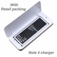 Samsung Galaxy Note 4 External Spare Battery Charger for note4 3220 mah battery