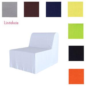 Nach Maß Abdeckung, Passend für IKEA  Lycksele 1er Bettsofa, Bezug 34 Optionen