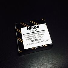 Nikon Diopter-Adjustment 0.5 Eyepiece Correction Lens for FM3A NewFM2 FA FE2 New