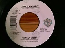 """JEFF FOXWORTHY 45 RPM """"Redneck Stomp"""" & """"Words in the South"""" VG+"""