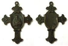 Medaglia A Croce S. Francesco D'Assisi Bronzo