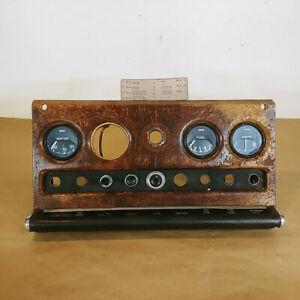 Jaguar MK10 Mark X Original Switch Panel Dash Gauge Cluster OEM