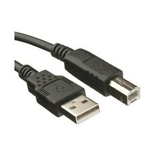 High Speed USB 2.0 A to B Male Cable Epson Kodak HP Printer Lead 1.8M