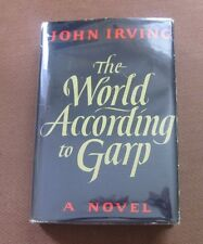 THE WORLD ACCORDING TO GARP by John Irving - 1st/early- HCDJ - film movie