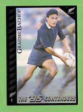 1995 NEW ZEALAND  ALL BLACKS RUGBY UNION CARD  #2  GRAEME BACHOP