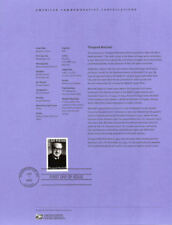 #0301 37c Thurgood Marshall #3746 Souvenir Page